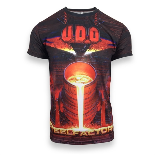 U.D.O. - All Over Print Steelfactory, T-Shirt