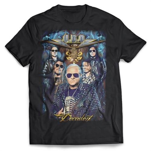 U.D.O. - Group Decadent, T-Shirt