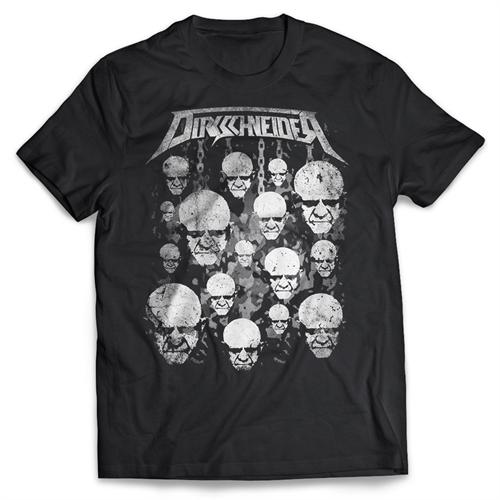 Dirkschneider - Faces Black, T-Shirt