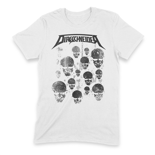 Dirkschneider - Faces White, T-Shirt