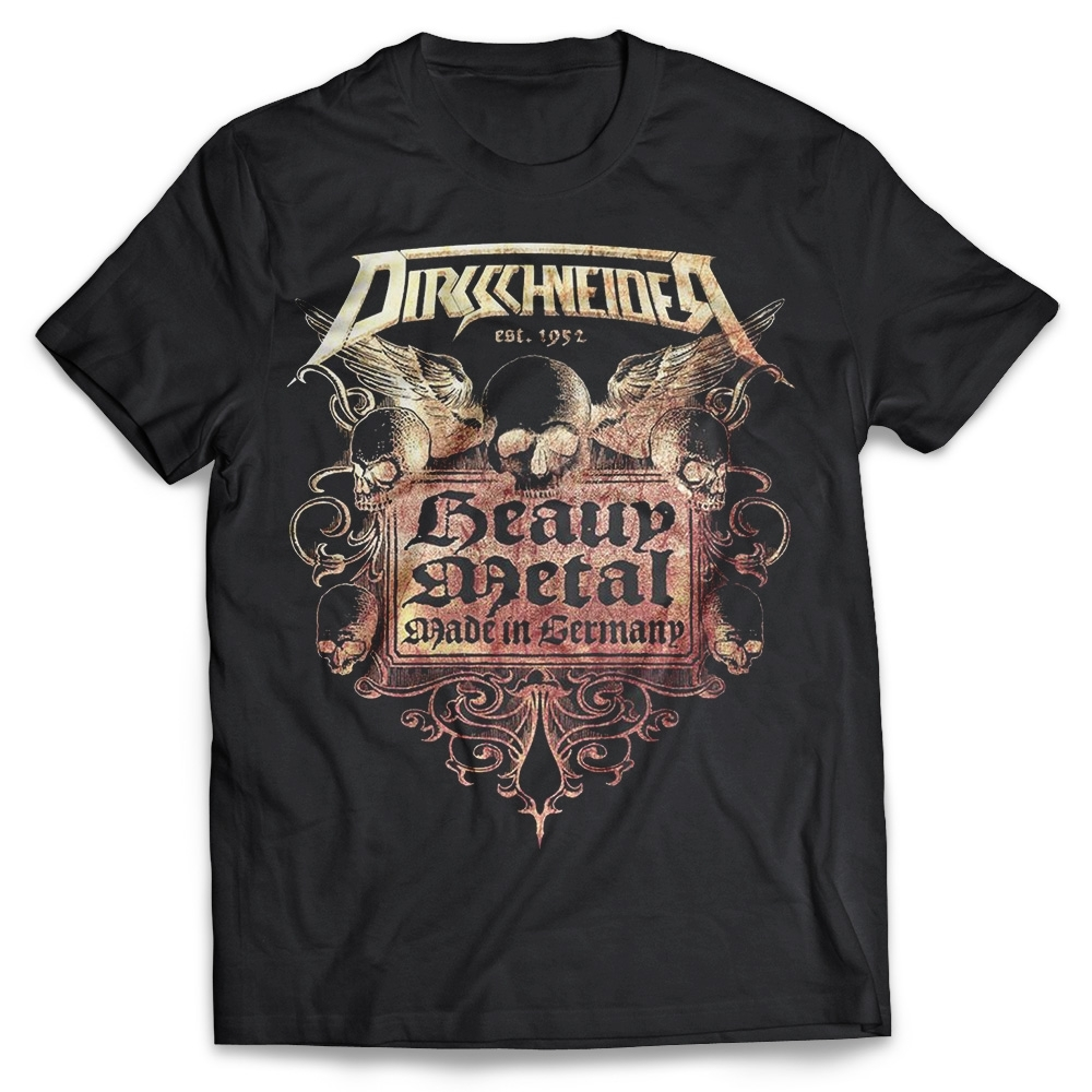 U.D.O. - Heavy Metal made in Germany, T-Shirt