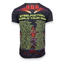 U.D.O. - All Over Print Steelfactory, T-Shirt